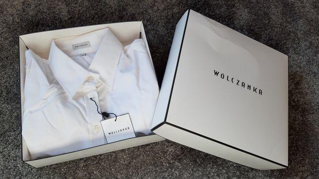 Koszula biała wizytowa Wólczanka nowa 36