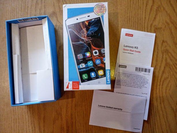 Pudełko po telefonie Lenovo K5 i Huawei y7