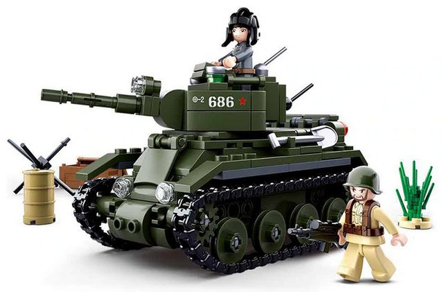Zestaw Czołg KW1 - Łącz z Lego / NOWE