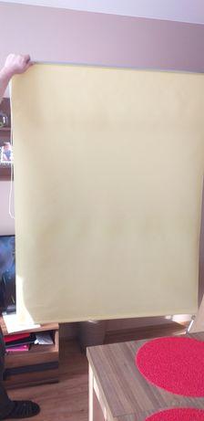 Roleta okienna żółta 120x 150 zamienię