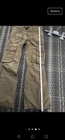 DKNY - spodnie bojówki 122/128