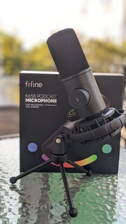 Динамический микрофон USB  Fifine k658