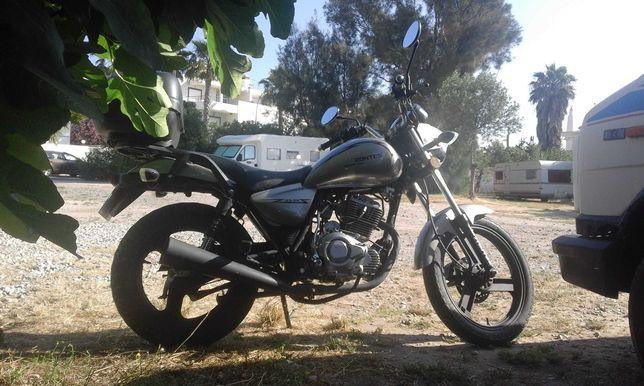 Zontes 125 moto 2016