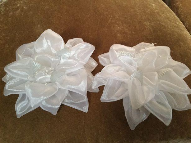 Банты зыколки резинки для девочек лилии