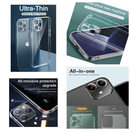 Capa Silicone Slim P/ iPhone 7 / 8 / 7 Plus / 8 Plus / X / XS / XR