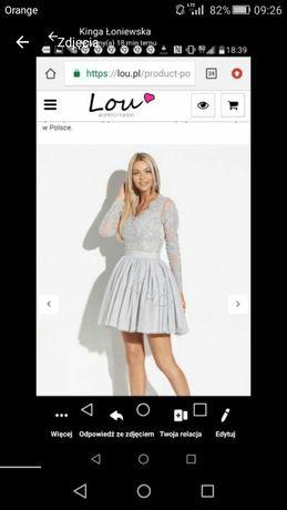 Sukienka Lou M jak nowa