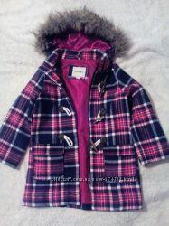 Пальто деми шерстяное на девочку