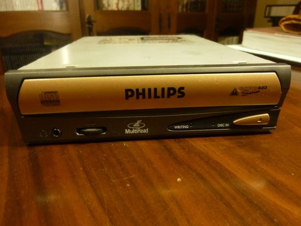CDRW-leitor e gravador de CDS Philips