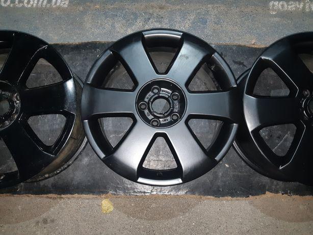 Goauto originally disks Audi 5/112 r17 et45 7.5j dia57.1 в чёрном цвет