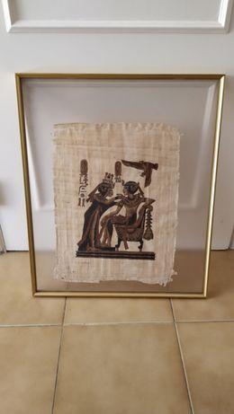 Quadros com papiros Egípcios
