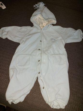 Pajacyki ciepłe niemowlęce  rozmiar 56/62