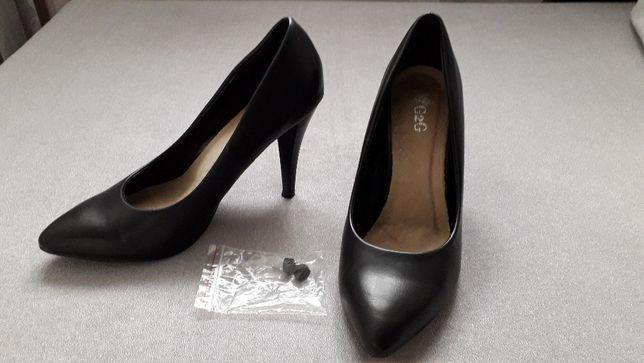 Czarne szpilki / Czółenka czarne rozmiar 38
