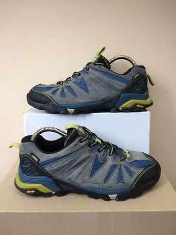 Merrell Gore-Tex трекинговые кожаные кроссовки ботинки  42- 41р