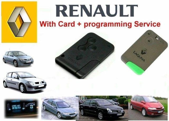 Cartão Renault Megane 2 , Laguna 2, Scenic e Smart For Two