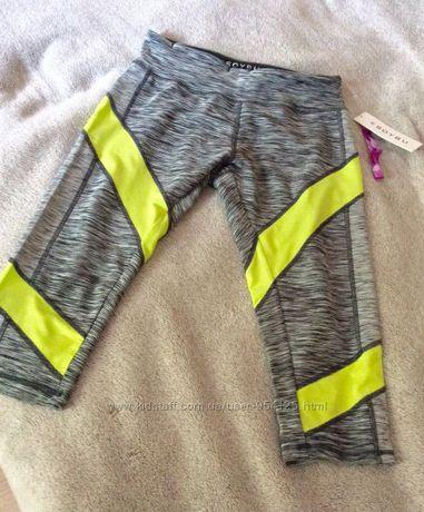 Фирменные спортивные штаны для йоги и спорта со вставками M-L