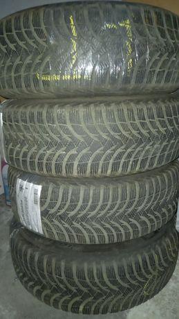 Opony zimowe 195/65/R15 Michelin Alpin + Felgi stalowe 2012r. 4 szt.