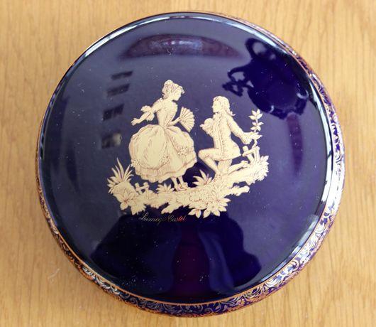 Caixa de jóias Limoges Cartel 22k
