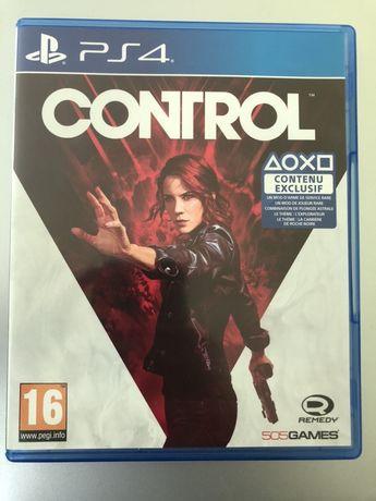 Control gra Ps4