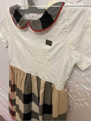 Платье для девочки , брендовое, нарядное . 6-7 лет