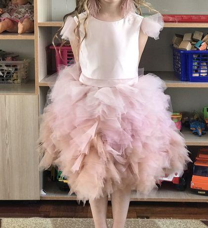 Нарядное платье сукня плаття для выпускного/утренника + босоножки