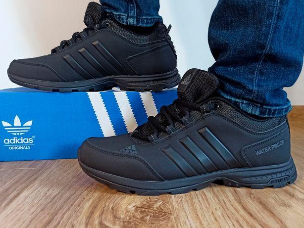 Adidas Waterproof Terrex непромокаемые черные мужские кроссовки 41-45