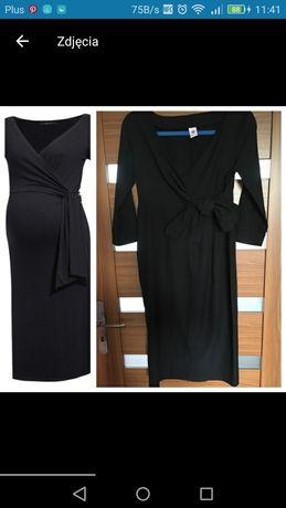 Sukienka ciążowa czarna elegancka
