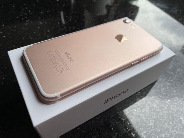 Iphone 7 128GB Rose Gold różowy uszkodzony głośnik