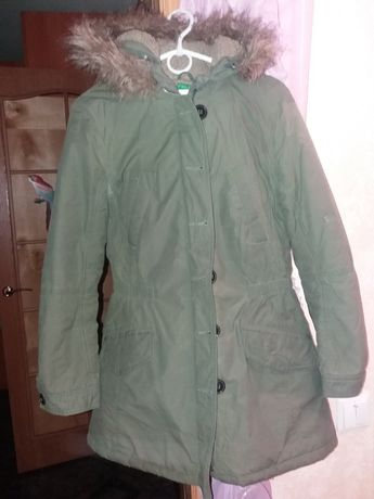 Зимная куртка парка