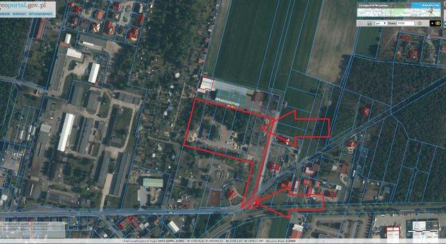 Działka budowlana przemysłowa Wolsztyn Karpicko