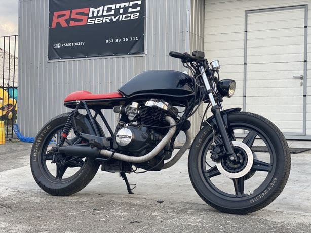 Honda CB400 1987 год cafe racer custom