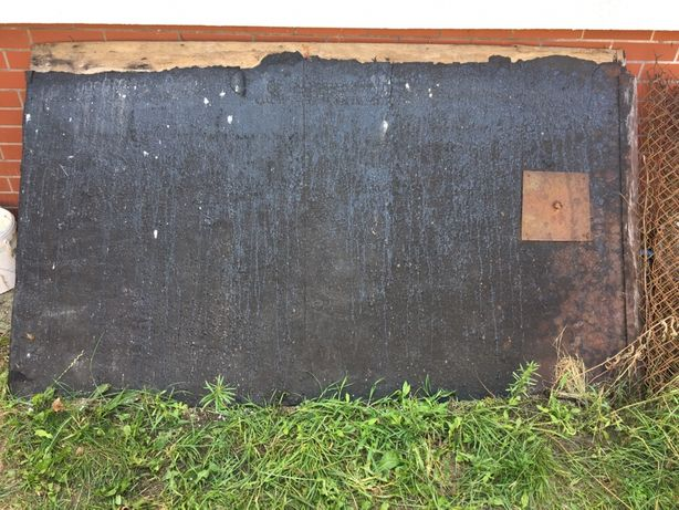 Dwie płyty ze sklejki 213x125x1 cm zamiast osb