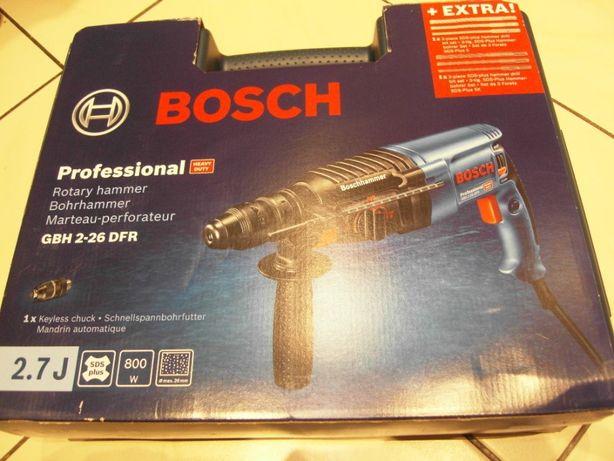 Młotowiertarka Bosch GBH 2-26 DFR / DRE jak 2-28 Gwarancja