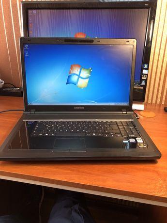 Ноутбук Medion P8610 Диагональ  18,4 Intel Core 2Dou RAM 4гб HDD 320