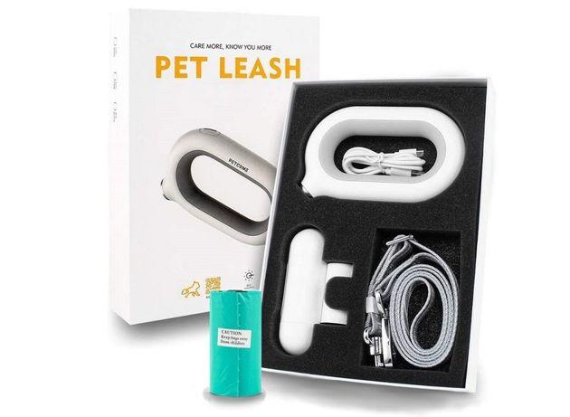 Miejska smycz PetCome Smart Pet Leash LED z aplikacją