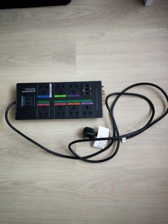 Listwa zasilająca Monster Green  Power - Control HDP 750G