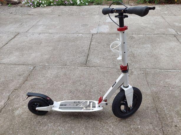 Самокат Lux Hammer scooter urban на надувных колёсах