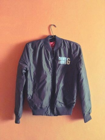 Limited! Kurtka bomber London Cheats x Thieves flyers superdry alpha