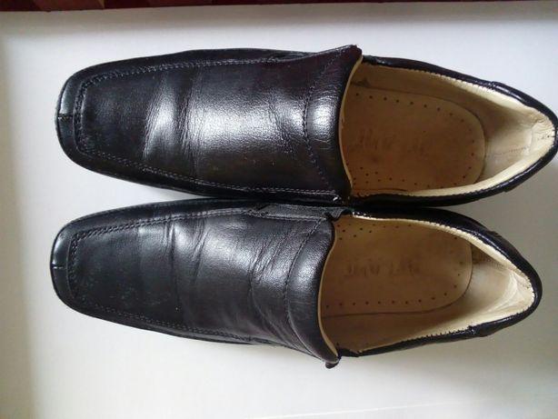 Туфли (кожа)с ортопедической стелькой.