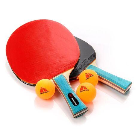 Набор для настольного тенниса Meteor Zephyr 2 ракетки+3 мячика