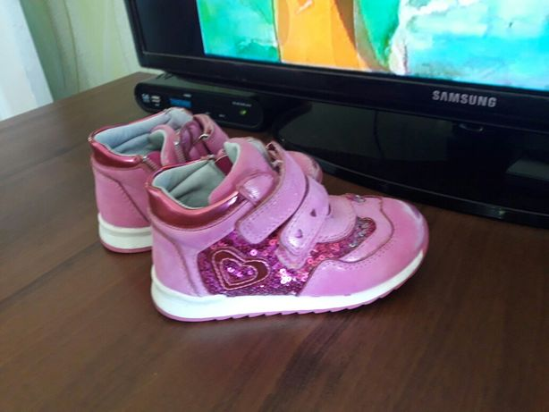Детские ботинки на девочку клиби,клибе,