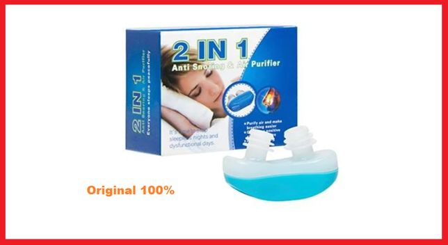 Антихрап Anti Snoring UTM 2 в 1 клипса против храпа. Акция!