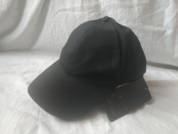 Karen by Simonsen czapka z daszkiem czarna nowa damska basic