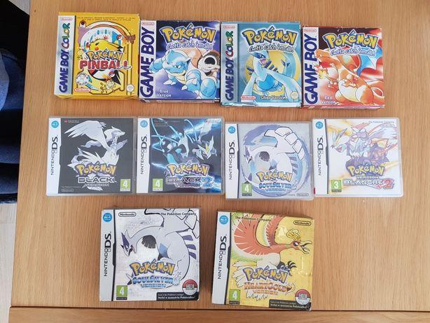 Jogos pokemon nintendo ds gameboy