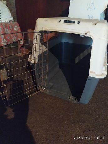 Caixa de transporte para cães