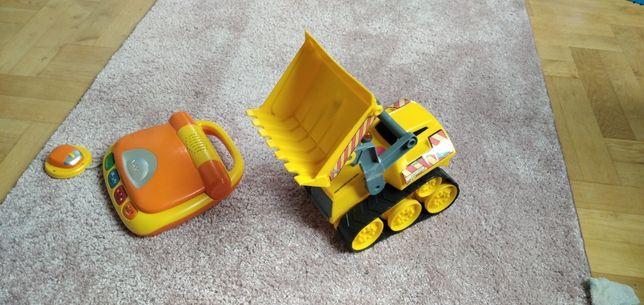 duża ładowarka, spychacz, koparka, samochód budowlany little tikes