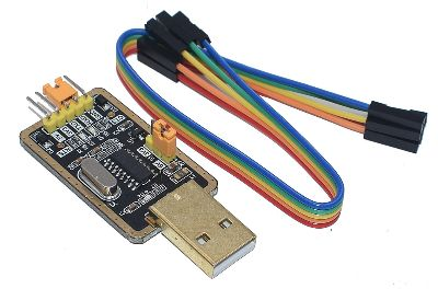 USB в TTL преобразователь UART модуль CH340G 3,3 V 5V переключатель