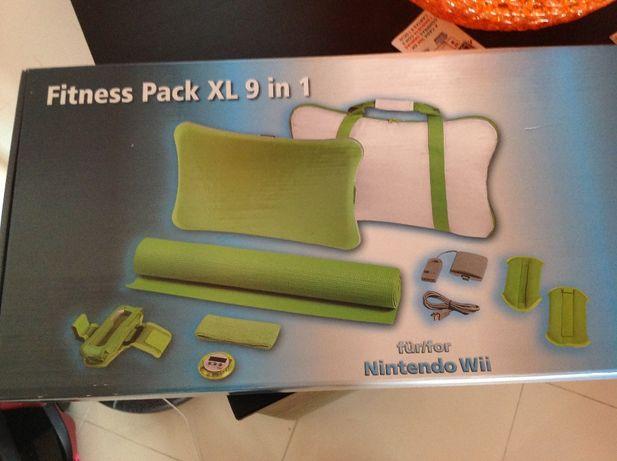 Vendo kit de asseçórios de Wii fitness