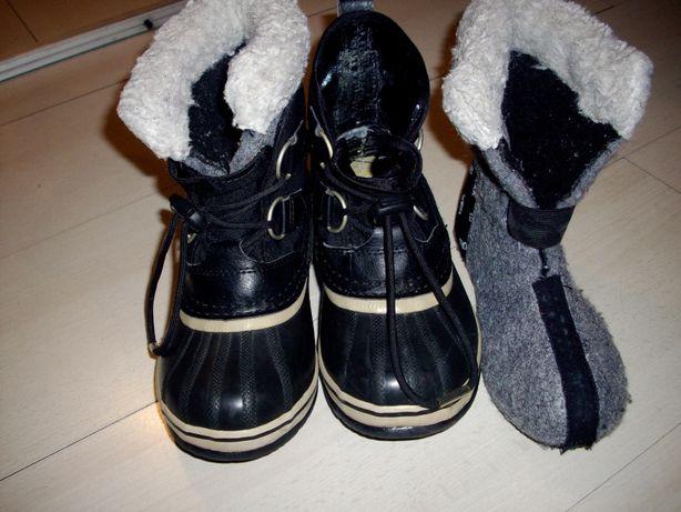 Sorel buty śniegowce rozm. 31