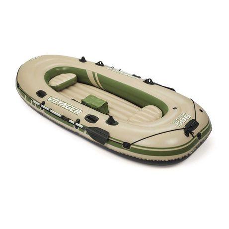 Трехместная надувная лодка