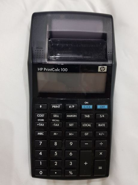 Calculadora Hp PrintCalc 100